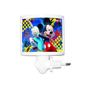 Luz Noturna Startec Mickey Retangular Acrílico/Papel Colorido Bivolt
