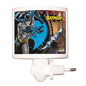 Luz Noturna Startec Batman Retangular Acrílico/Papel Colorido Bivolt