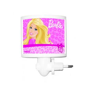 Luz Noturna Startec Barbie Retangular Acrílico/Papel Colorido Bivolt