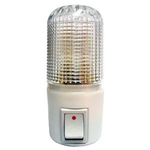Luz Noturna Key West 6180 Retangular Plástico Branca 127V (110V)