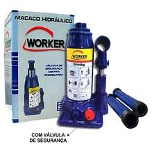 MACACO HIDRAULICO GARRAFA MEDIO ALTURA MINIMA 18,00 CM ALTURA MAXIMA 32,00 CM CAPACIDADE 2,00 TON
