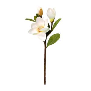 Magnólia 4 Flores Haste 14,5cm