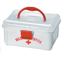 Maleta Primeiros Socorros Plástico 10x19x16cm Nitronplast