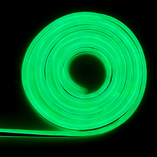 Mangueira LED Neon Luz Verde 5m IP 65 Gaya 127V (110V)
