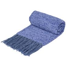 Manta Decorativa Barroque Trama Azul 2 1,20X1,80m