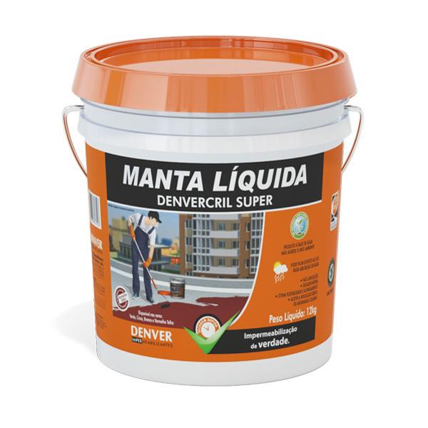 Manta l quida denvercril super vermelho telha 12kg denver for Guaina liquida leroy merlin