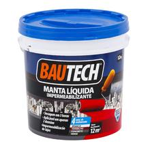 Manta Líquida Impermeabilizante Branco 12Kg Bautech