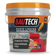 Manta Líquida Impermeabilizante Cinza Concreto 12Kg Bautech