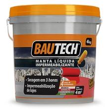 Manta Líquida Impermeabilizante Cinza Concreto 4Kg Bautech