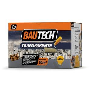 Manta l quida impermeabilizante transparente 3 5kg bautech for Guaina liquida leroy merlin