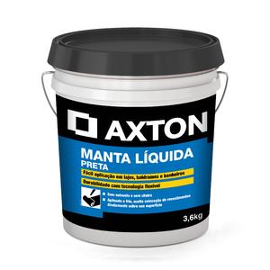 Manta Líquida Preta 3,6kg Axton