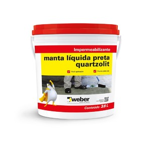 Manta l quida preta 3 6kg quartzolit leroy merlin - Manta termica piscina leroy merlin ...