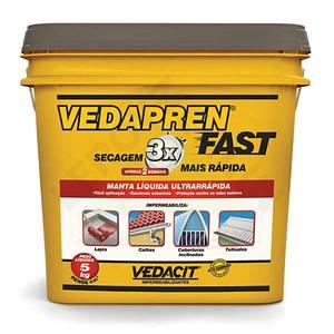 Manta Líquida Vedapren Fast Concreto 5Kg Vedacit