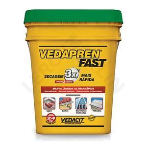 Manta Líquida Vedapren Fast Verde 24Kg Vedacit