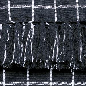 Manta Para Sofá Black & White Quadriculado De 1,50 X 1,40 ...