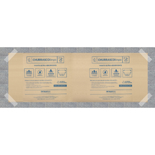 Manta Proteção Piso Churrasco Limpo 62x32x32cm Promaflex