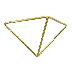 Mao Franc comfix Aço 20x12cm dourado Line