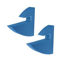 Mão Francesa para Prateleira de Madeira Azul 7,2x2,2cm Prat-K