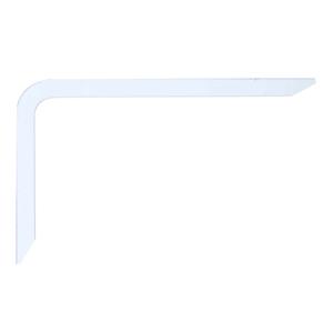 Mão Francesa para Prateleira de Madeira Branco 24x14,9cm Bemfixa