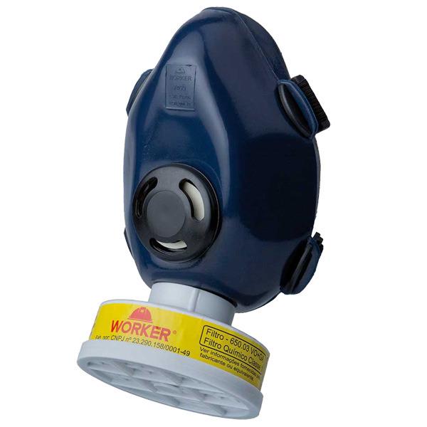 c176f6fbbba39 Máscara Respiratório Semi Facial 1LPE Pesticida