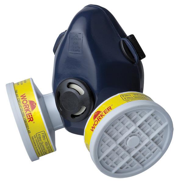 Máscara Respiratório Vo+Ga Vap. Org. + Gases Àcidos 5b37b163e4