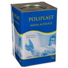 Massa Acrílica 28kg Poliplast