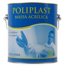 Massa Acrílica 5,6kg Poliplast