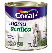 Massa Acrílica Coral 900ml