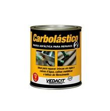 Massa Betume Carboplástico N2 Densidade 1,18 G/CM³ Preta Massa Asfáltica para Reparo Lata 1 kg