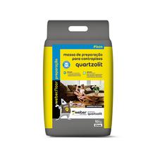 Massa de Preparação para Contrapiso Cinza 10kg Quartzolit