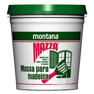 Massa para Correção de Madeira Montana Mazza Castanho 6,4Kg