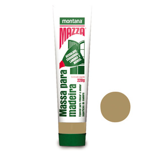 Massa para Correção de Madeira Montana Mazza Verde 0,22Kg