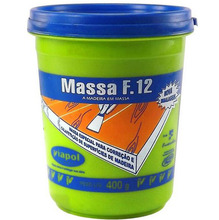 Massa para Correção de Madeira Viapol F12 Marfim 0,40Kg