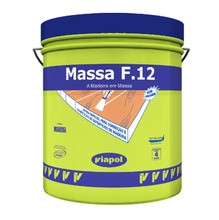Massa para Correção de Madeira Viapol F12 Marfim 6,50Kg