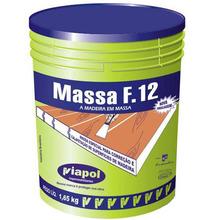 Massa para Correção de Madeira Viapol F12 Mogno 1,65Kg