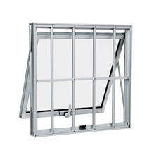 Maxim-ar de Alumínio 40x60x7cm Branco Alumifort Sasazaki