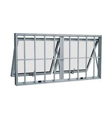 Maxim-ar de Alumínio 60x120x7cm Branco Alumifort Sasazaki
