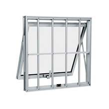 Maxim-ar de Alumínio 60x80x7cm Branco Alumifort Sasazaki