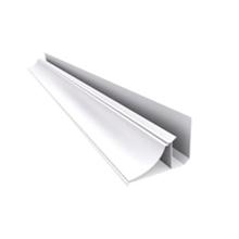 Meia Cana Branca 6m Real PVC