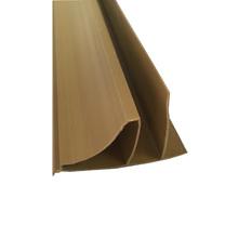 Meia Cana Flexível de PVC 600x32cm Qualiplast