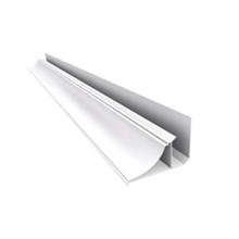 Meia Cana Rígido de PVC Branco 4m Real PVC