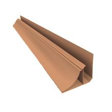 Meia Cana Rígido de PVC Cerejeira 4m Real PVC