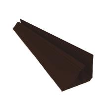 Meia Cana Rígido de PVC Tabaco 4m Real PVC