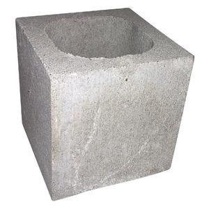 Meio Bloco de Concreto Estrutural 19X19X19cm Spar
