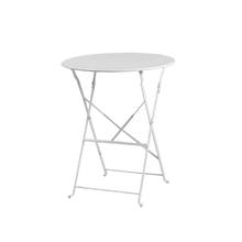 Mesa Aço Dobrável 60x70cm Branco Importado