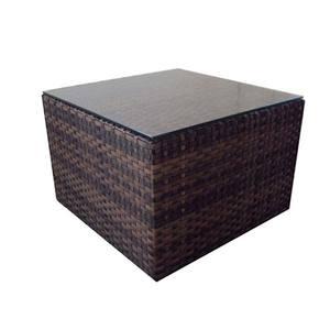 Mesa Centro Alumínio/Sintético Brasil 42x60cm Bronze Outdoor