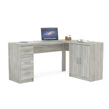 Mesa de Computador 75,5x116,5x37,5cm Madeira Ártico Bahamas Politorno