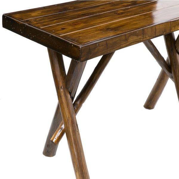 Mesa madeira r stica 70x150x80cm marrom leroy merlin - Baldosas rusticas leroy merlin ...