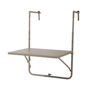 Mesa para Varanda Aço 57,50x45cm Cinza Importado