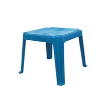 Mesa Plástico Infantil 45x45x45cm Azul